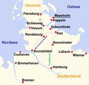 Kappeln in Schleswig-Holstein