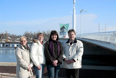 Das Team von Frachtschifftouristik Zylmann